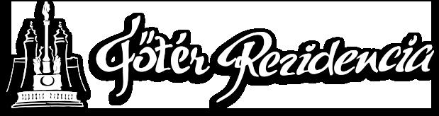Főtér Rezidencia logo fekvo-arnyek